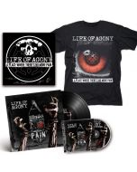 LIFE OF AGONY-A Place Where There's No More Pain/CD + BLACK LP + T-Shirt + Autographed Screen Printed Poster Bundle