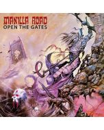 MANILLA ROAD - Open the Gates / IMPORT Clear LP