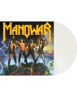 MANOWAR - Fighting The World / NAPALM RECORDS EXCLUSIVE Milky Clear LP