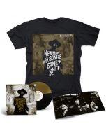 ME AND THAT MAN - New Man, New Songs, Same Shit, Vol.1 / BLACK GOLD SPLIT LP + Cover T-Shirt Bundle