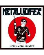 METALUCIFER - Heavy Metal Hunter / IMPORT Splatter LP