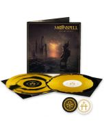 MOONSPELL - Hermitage / LIMITED DIEHARD EDITION GOLD BLACK INKSPOT  2LP W/ PATCH + STICKER
