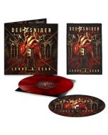 DEE SNIDER - Leave A Scar / LIMITED DEE-HARD EDITION RED BLACK MARBLE LP WITH SLIPMAT AND BACK PATCH