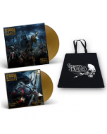 LEGION OF THE DAMNED-Slaves Of The Shadow Realm/Limited Edition GOLD Vinyl Gatefold LP+7 Inch+Cotton Bag