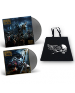 LEGION OF THE DAMNED-Slaves Of The Shadow Realm/Limited Edition SILVER Vinyl Gatefold LP+7 Inch+Cotton Bag
