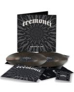 TREMONTI - Marching In Time / LIMITED DIEHARD EDITION CLEAR BLACK MARBLED 2LP WITH PRINT AND GUITAR PICK PRE-ORDER RELEASE DATE 9/24/21