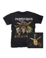 PADDY AND THE RATS-Riot City Outlaws/T-Shirt