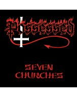 POSSESSED - Seven Churches / IMPORT Gold LP