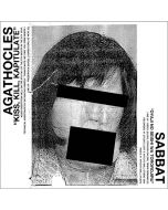 SABBAT / AGATHOCLES - Split / IMPORT 7""
