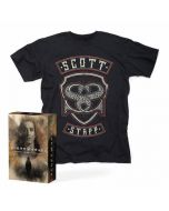 SCOTT STAPP - The Space Between the Shadows / Limited Edition Deluxe Boxset + T-Shirt Bundle