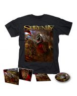 SERENITY-Lionheart/Limited Edition Digipack CD + T-Shirt Bundle