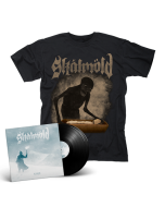 SKALMOLD- Sorgir/Limited Edition BLACK Vinyl Gatefold 2LP + Mara T-Shirt Bundle