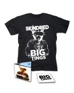 SKINDRED-Big Tings/Limited Edition Digipack CD + T-Shirt Bundle