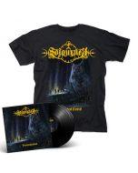 SOJOURNER - Premonitions / BLACK 2LP + T-Shirt Bundle