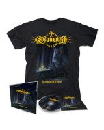 SOJOURNER - Premonitions / Digipak CD + T-Shirt Bundle