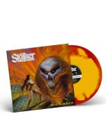 STALKER - Black Majik Terror / RED + YELLOW INKSPOT LP