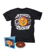 STONED JESUS - First Communion / Digipak CD + T-Shirt Bundle