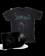 STONED JESUS- Pilgrims/Limited Edition BLACK Vinyl Gatefold LP + T-Shirt Bundle