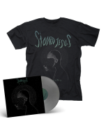 STONED JESUS- Pilgrims/Limited Edition SILVER Vinyl Gatefold LP + T-Shirt Bundle