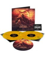 STORMRULER - Under The Burning Eclipse / LIMITED DIEHARD EDITION ORANGE BLACK MARBLE 2LP WITH SLIPMAT + LOGO PATCH