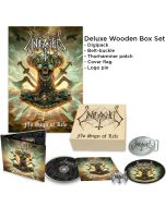 UNLEASHED - No Sign Of Life / DELUXE WOODEN BOXSET PRE ORDER RELEASE DATE 11/12/21