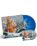 VISIONS OF ATLANTIS - A Symphonic Journey To Remember / LIMITED EDITION Blue+White Splatter 2LP + DVD
