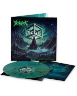 WIZARDTHRONE - Hypercube Necrodimensions / LIMITED EDITION BLUE GREEN MARBLE LP PRE-ORDER RELEASE DATE: 7/16/21