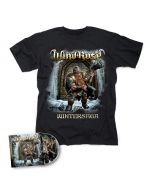 WIND ROSE-Wintersaga/CD + T-Shirt Bundle