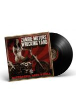 ZOMBIE MOTORS WRECKING YARD-Supersonic Rock´n Roll/ Limited Edition BLACK Gatefold LP