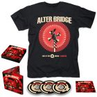 ALTER BRIDGE-Live At The O2 Arena + Rarities/Limited Edition Digipack 3CD + T-Shirt Bundle