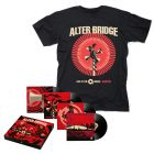 ALTER BRIDGE-Live At The O2 Arena + Rarities/Limited Edition Black Vinyl 4LP Boxset + T-Shirt Bundle