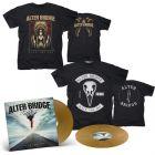ALTER BRIDGE - Walk The Sky / Limited Edition Gold 2LP + Walk The Sky T-Shirt + Bird T-Shirt Bundle
