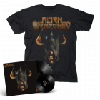 "ALIEN WEAPONRY-Tū/Limited Edition Black LP+7"" + T-Shirt  BUNDLE"