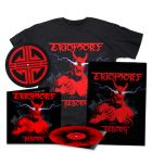 EKTOMORF - Reborn / LIMITED DIEHARD EDITION RED BLACK SPLATTER LP W/ SIGNED POSTER + SLIPMAT + T-SHIRT BUNDLE