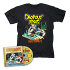 Dropout Kings-AudioDope/CD + T-Shirt Bundle