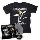 DEE SNIDER - For The Love Of Metal Live / SILVER 2LP + DVD + T-Shirt Bundle