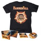 HAMMERFALL - Dominion / Digipak CD + T- Shirt Bundle