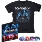 KAMELOT - I Am The Empire - Live From The 013 / LIMTED EDITION EARBOOK + T-Shirt Bundle