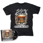 SISTERS OF SUFFOCATION-Humans are Broken/CD + T-Shirt Bundle
